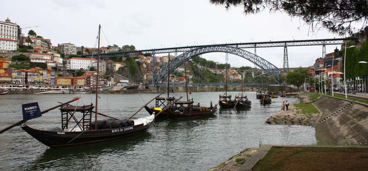 The historic centr of Porto