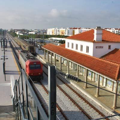 Evora train station
