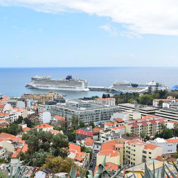 Funchal Cruise ship