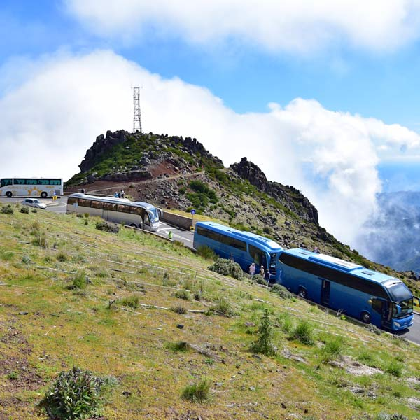 Pico do Arieiro coach tours