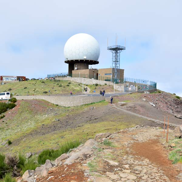 Pico do Arieiro radar dome