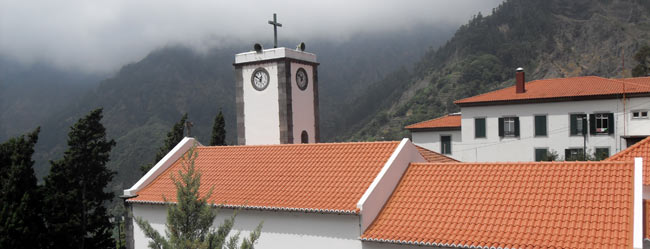 The church in Curral das Freiras