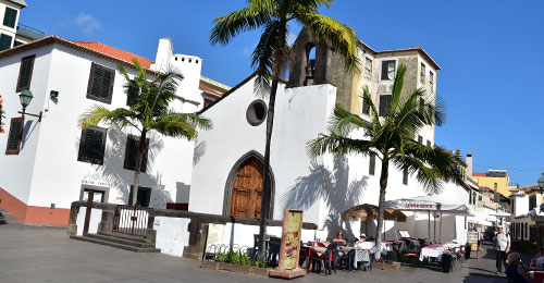 Cidade Velha old town in Funchal