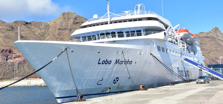 Porto Santo Ferry in Funchal