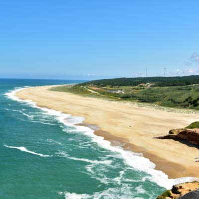 Praia do Norte beach Nazare