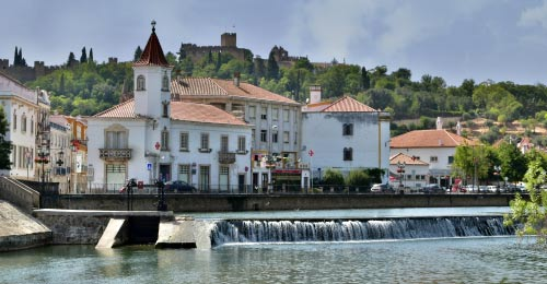 Tomar is a pretty and historic town